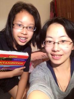 Narisarra with Tutor Jewen