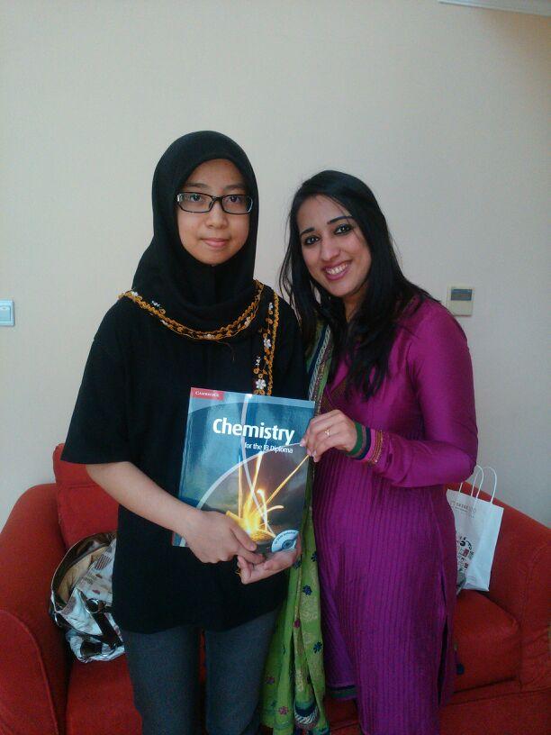 Nina with Mamta