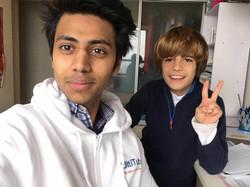 Bilal with OT English and Math