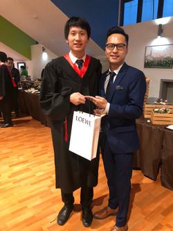 Bryan with tutor Ken
