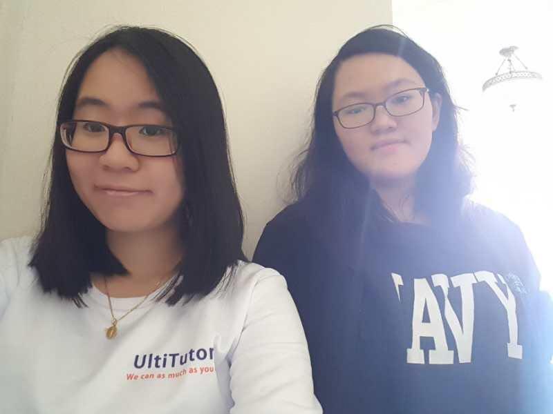 Amanda with Yi Ran