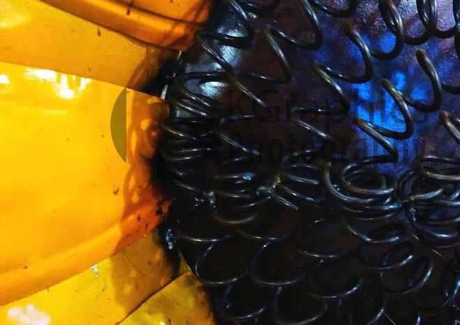 Macro metal Sunflower