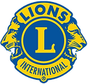 Yellow and Blue Lions Logo