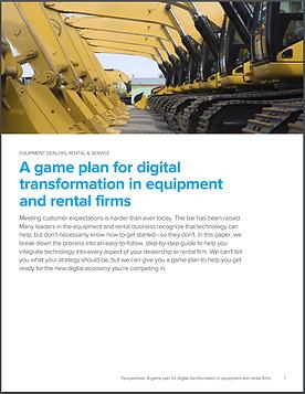 PDF Cover A Game Plan for Digital Transf