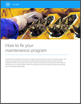 PDF Cover How To Fix Your Maintenance Pr
