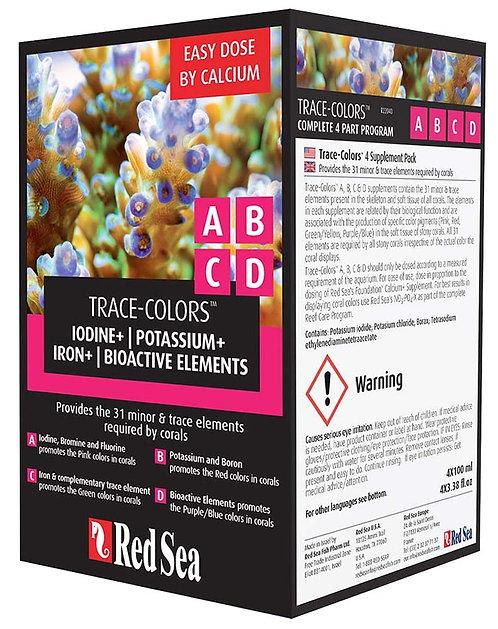 Coral Colors A, B, C, D