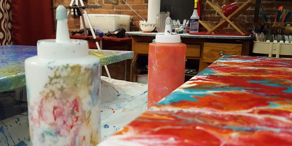 Paint Pour 6p