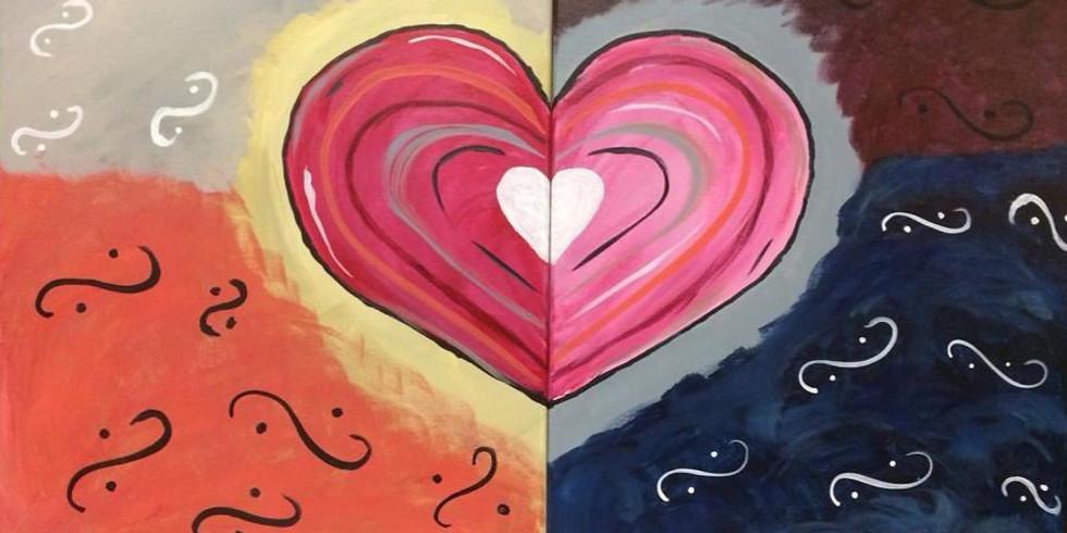 Valentine Couples Paint Night 6pm