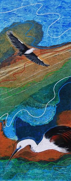 Wetland series- Pacific Heron
