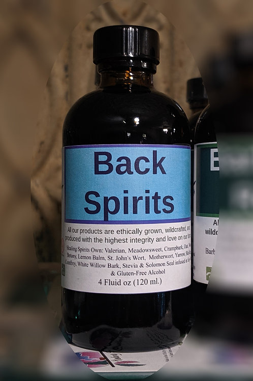 Back Spirits Tincture