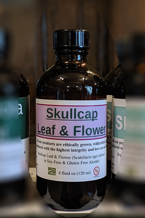 Skullcap Leaf & Flower Tincture