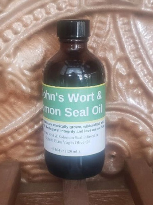 St. John's Wort & Solomon's Seal Oil