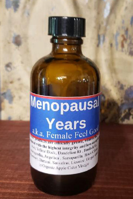 Menopausal Years Tincture With Vinegar