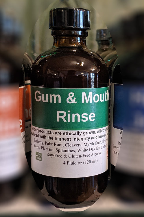 Gum & Mouth Rinse Tincture