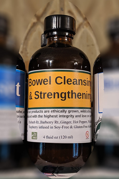 Bowel Cleansing & Strengthening Tincture