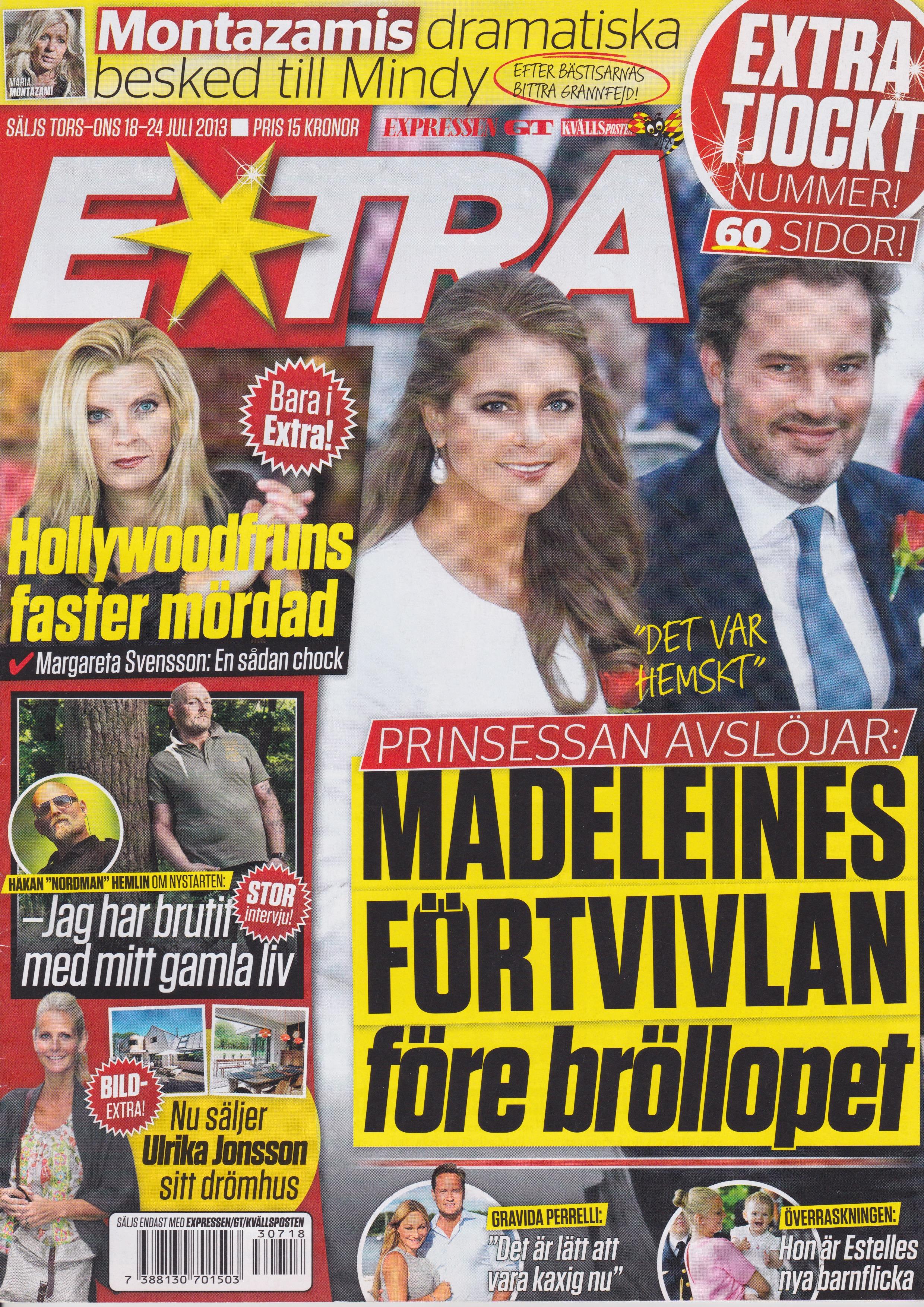 130718-Expressen_Extra-Margareta_Svensson_Riggs-Hollywoodfruns_faster_mördad-Cover