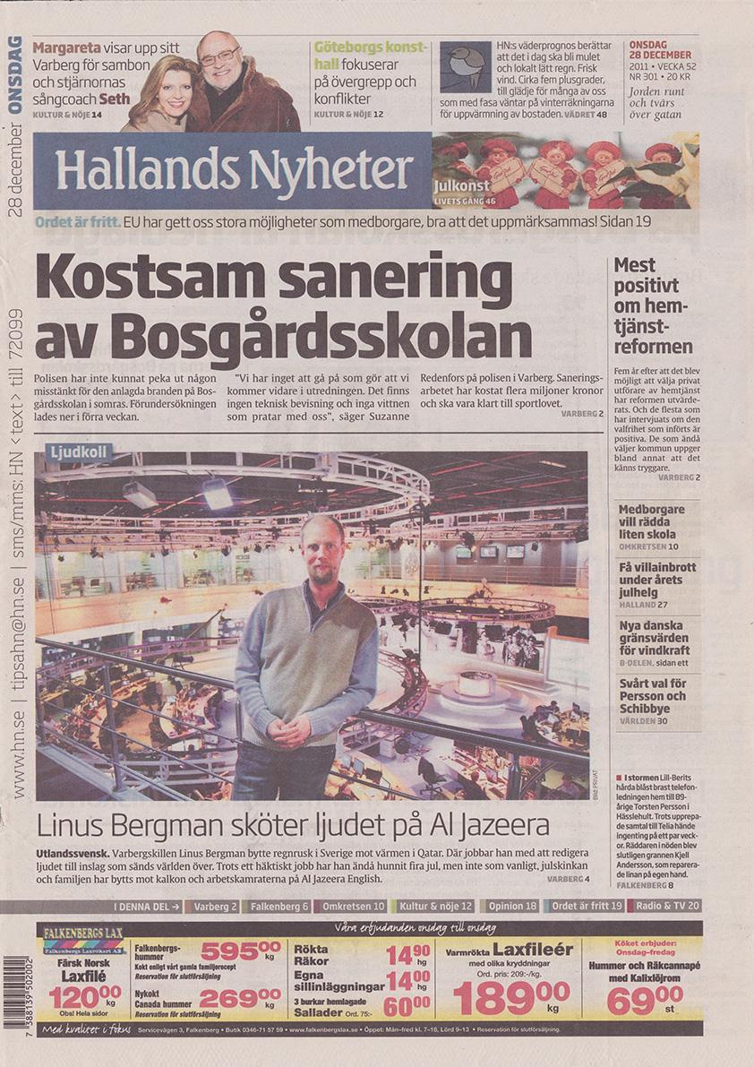 110228-Hallands Nyheter-Margareta Svensson Riggs-Margareta och sambon blir domare for ny sangtavling