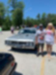 Mike and debbie giroux 1967 Pontiac bEAU