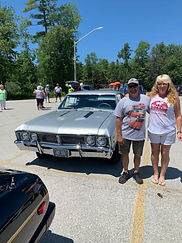 Mike and debbie giroux 1967 Pontiac bEAU