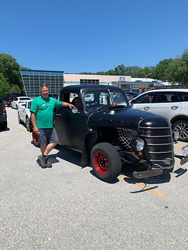Phil and kelly cooke 1948 Chevrolet Rat
