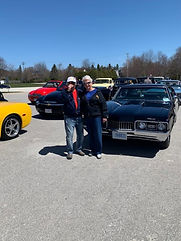 Charlie and Peg Tabone  olds cutlass.jpg
