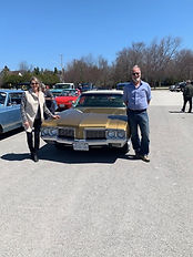 Ed and Denise Noordink Olds Cutlass.jpg