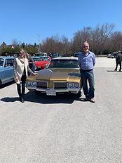 Ed and Denise Noordink Olds Cutlass.jpg