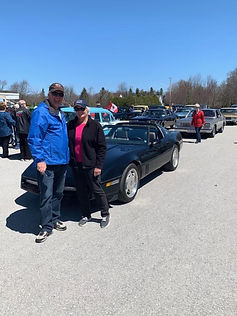 Ron and Mary Searl 1988 Corvette.jpg