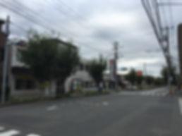 クリニック前道路