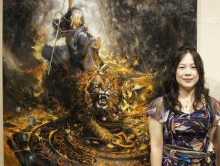 為畫「地獄門」神蹟就這麼出現了