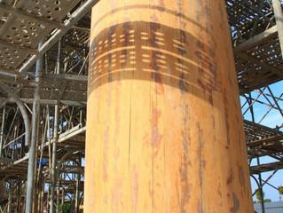 巨型檜木山門 南鯤鯓標誌