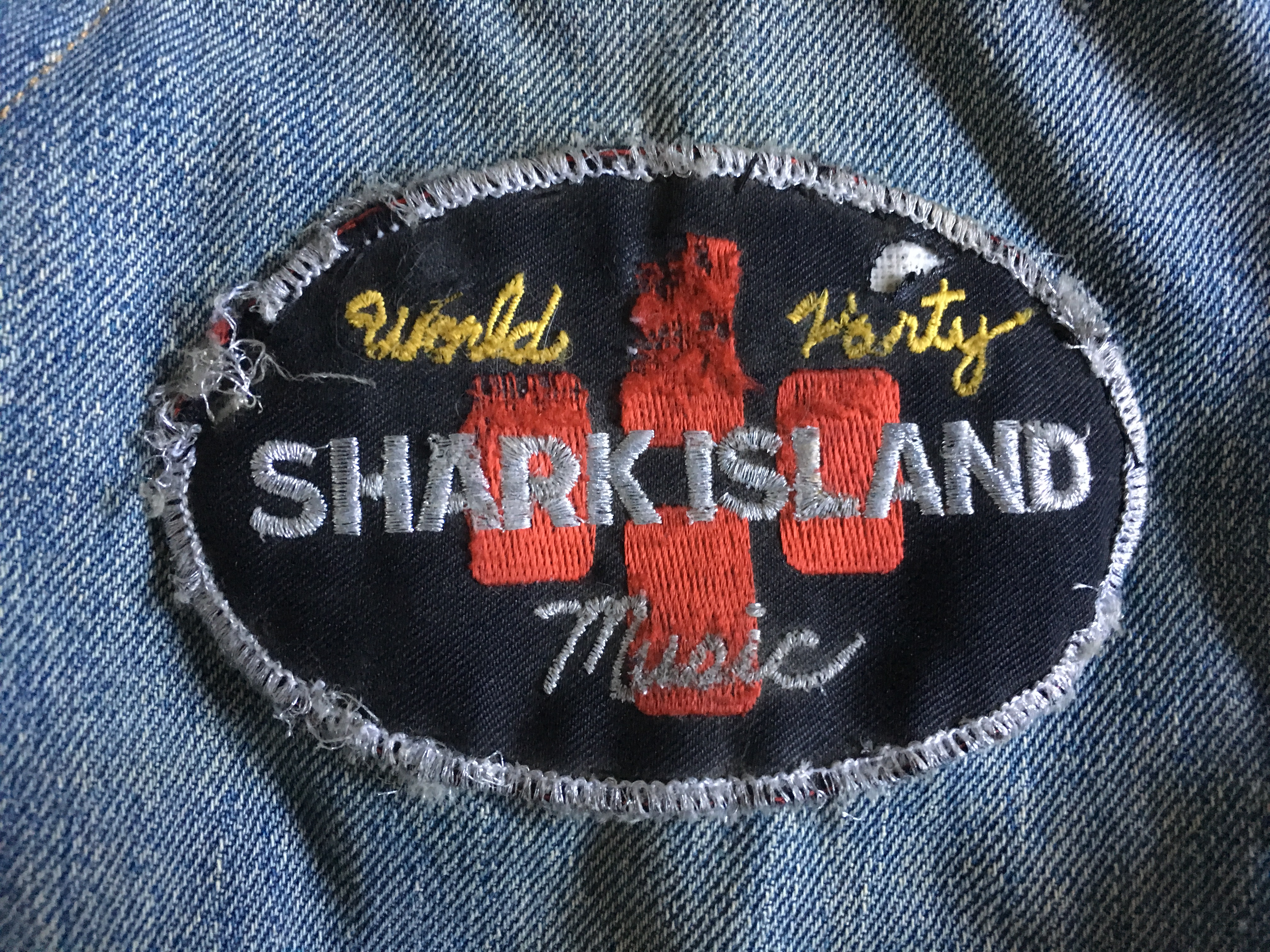 Shark Island Patch