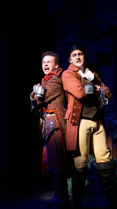 Le Fou in BEAUTY AND THE BEAST Cardinal Stage - 2018 PC: Blueline