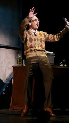 Stine in CITY OF ANGELS IU Theatre - 2018 PC: Amy Osajima