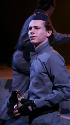Titinius in JULIUS CAESAR IU Theatre - 2018 PC: Amy Osajima