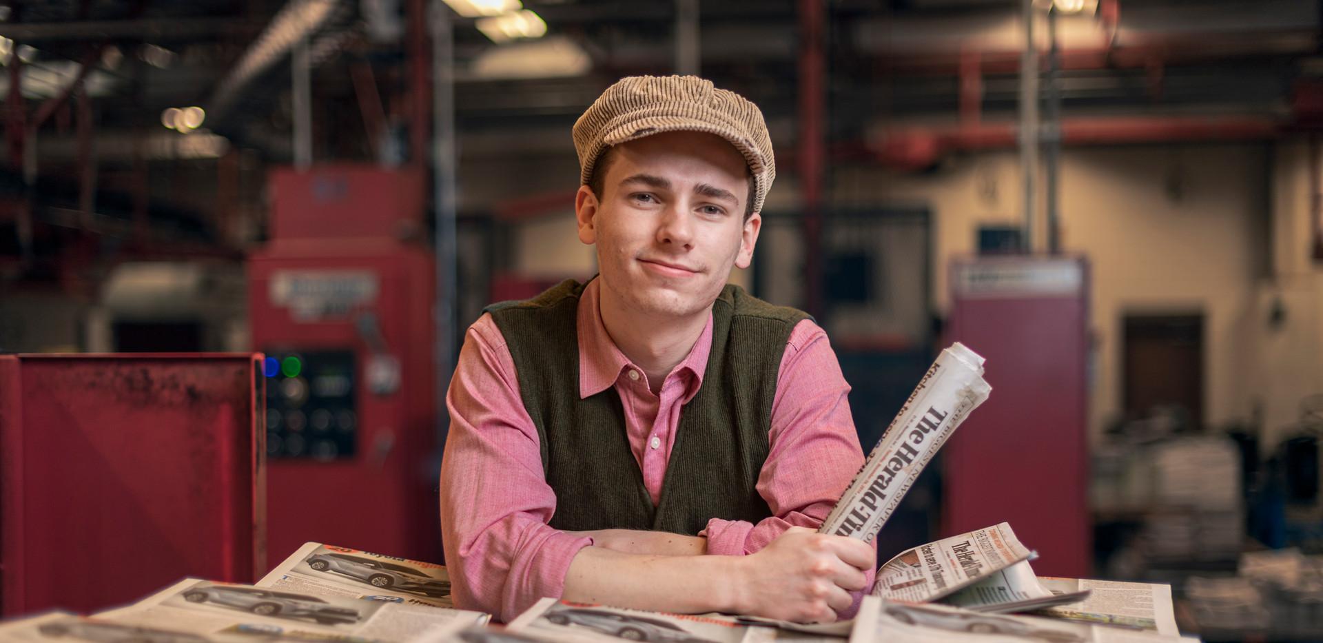 Davey in NEWSIES