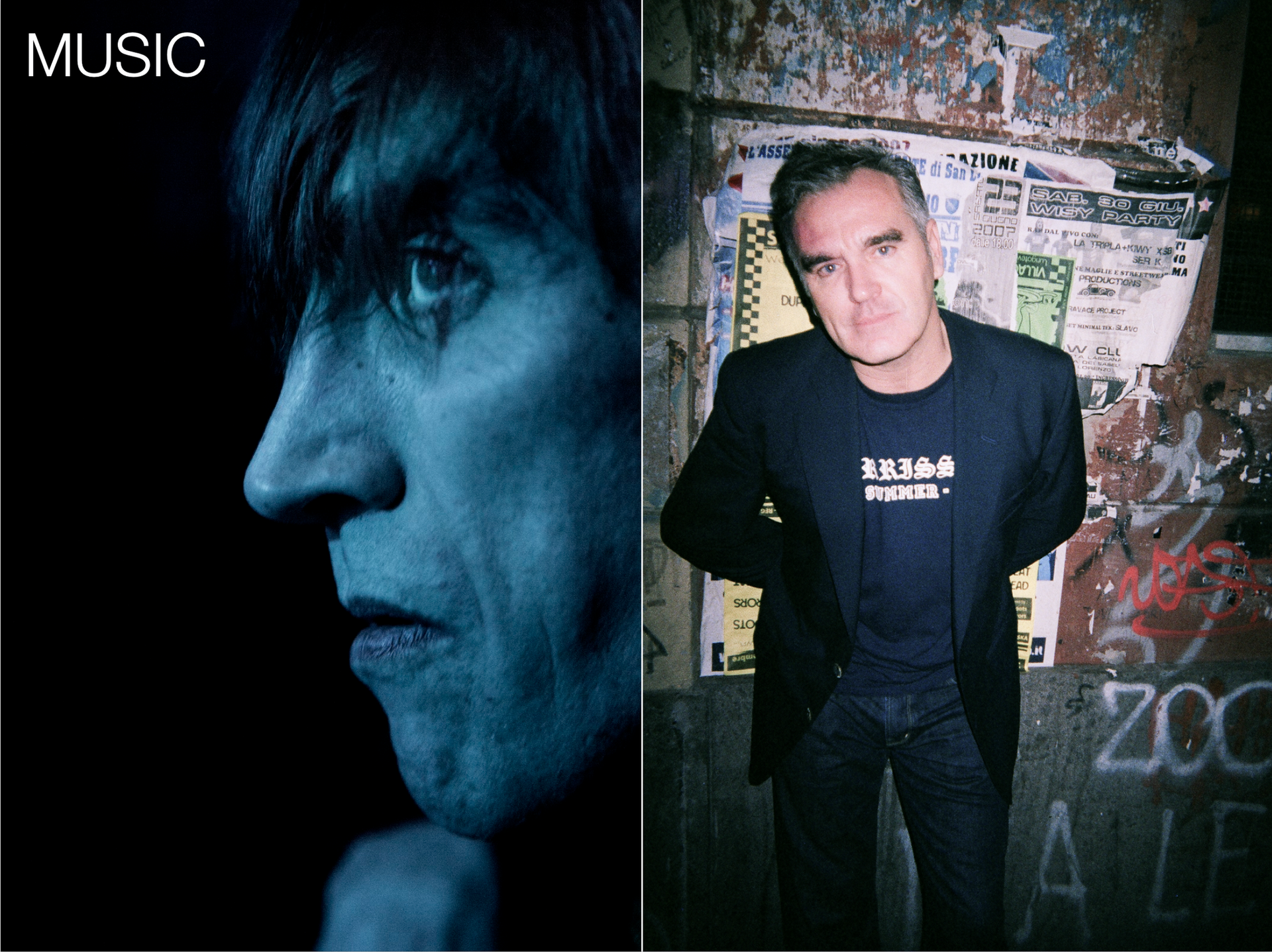 IGGY POP / MORRISEY