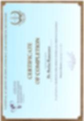 сертификат имплантация