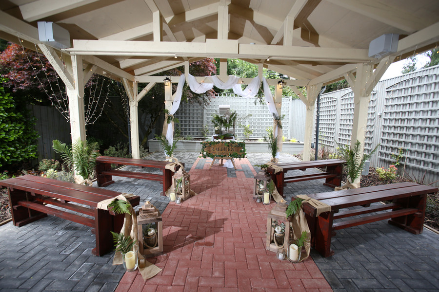 Outdoor Wedding Scottish Borders