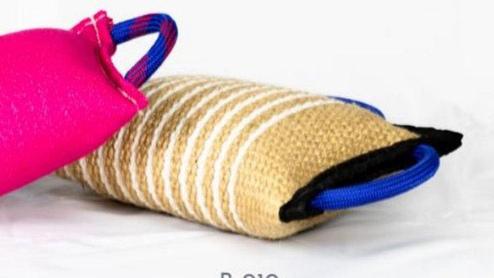 ROK9 Jute Bite Pillow Stuffed
