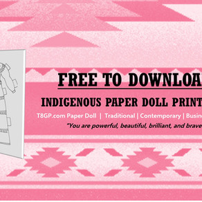 FREE Indigenous Paper Doll Printable
