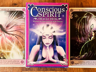 Conscious Spirit Oracle deck by Kim Dreyer