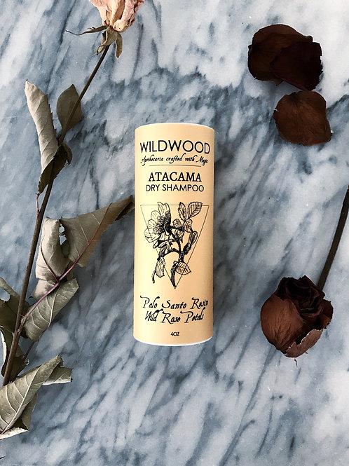 Atacama Dry Shampoo - Palo Santo and Wild Rose Petals
