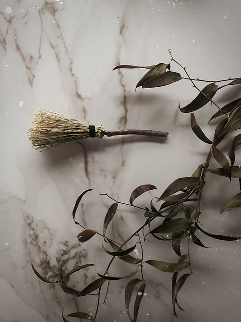 Hedgewitch Handcrafted Keepsake Broom