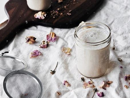 Lunar Magic Rituals + Cocoa Rose Moon Milk Recipe