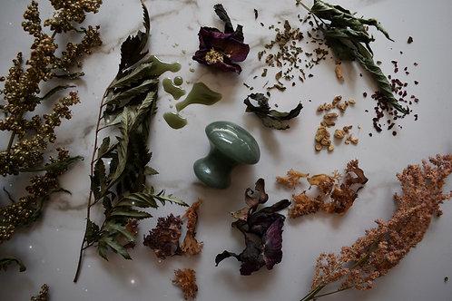 Jade Mushroom Gua Sha Tool