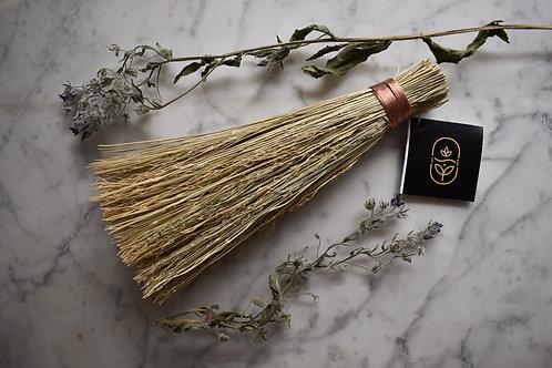 Handcrafted Corn Whisk Folk Broom