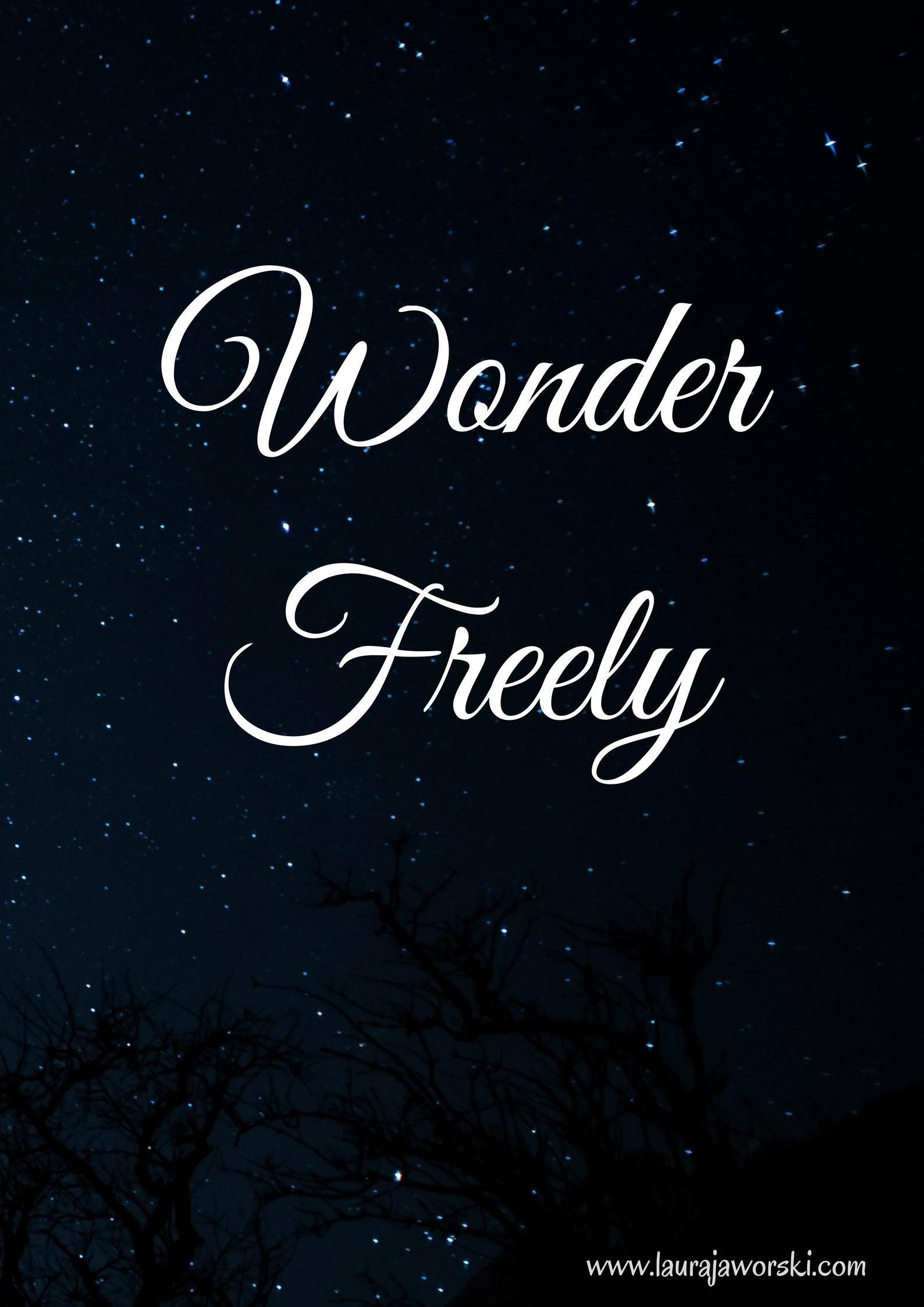 Wonder ♥ | www.laurajaworski.com