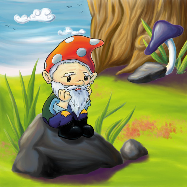 The Gnome That Wanted to Fly