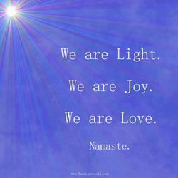 Light 💖   www.laurajaworski.com